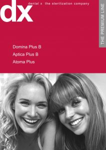 DentalX - autoclav DOMINA PLUS B